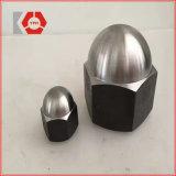 La norme DIN 986 bouchon rond en acier au carbone de l'Écrou avec insert en nylon