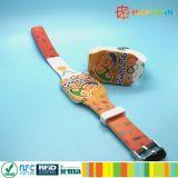 Farbenreiche Silikon RFID des Druckens NTAG213 Wristbands