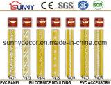 PU Linhas de teto decorativas / molduras de cornice de poliuretano para decoração doméstica e interior