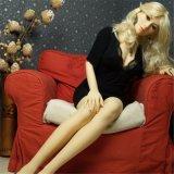 boneca realística do sexo do silicone de 165cm, boneca do sexo com esqueleto do metal