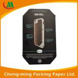 Casella di carta impaccante di qualità del nero della cassa su ordinazione di lusso cinese del telefono