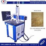 Máquina de grabado de la marca del laser del CO2 para los plásticos de cuero de papel