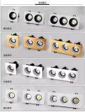 아래로 360 도 조정가능한 정연한 옥수수 속 LED 가벼운 백색 AC85-265V