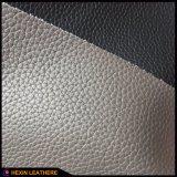 Classic Lychee PU Leather para fazer cadeira de massagem cama Hx-F1723