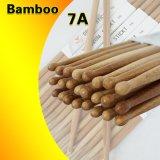 Commerce de gros vrac personnalisé Solid Bamboo Bâtons de tambour en bois pour la vente