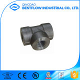 A solda do soquete do aço de carbono A105 forjou os encaixes de tubulação