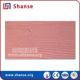 Tuile flexible de ignifugation imperméable à l'eau de mur d'anticorrosion (texture en bois)