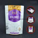 La poche comique de tirette d'impression de Customzied 3 couches a feuilleté le sachet en plastique droit pour le module de raisin sec avec le sachet en plastique comique de tirette