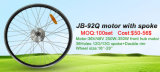 Jb-92q 26inch motor eléctrico sin cepillo del eje de rueda de la bici del frente de 350 vatios
