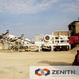 mobile Felsen-Zerkleinerungsmaschinen des Kiefer-50-600tph für Verkauf