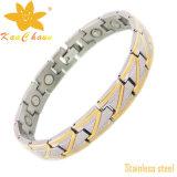 Bracelete de identificação de aço inoxidável de moda de Lasted