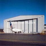 Fabricação pré-fabricada do hangar dos aviões do aço estrutural
