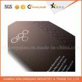 Tarjeta conocida de papel plateada impresión de encargo de las tarjetas de visita del OEM de China