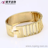 51006 Armband van de Juwelen van het Ontwerp van de manier de Brede Duidelijke met Zircon