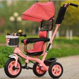 おもちゃの赤ん坊の手押車のベビーカーのジョガーCar&#160の子供の子供のTrikeの三輪車の乗車;