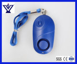 LEDの懐中電燈(SYSG-1988)が付いている自衛の小型携帯用個人的なアラーム