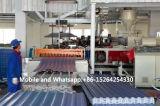 Самый новый штрангпресс для машинного оборудования доски волны PVC