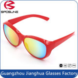Les lunettes de soleil de recyclage extérieures de vélo de sport ont polarisé des lunettes de soleil de lunetterie de lunettes