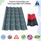 最上質のプラスチック建築材料の波形の屋根ASAの樹脂のタイル