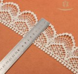 食卓用リネンの装飾のために刺繍されたボーダーレースを熱販売すること