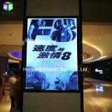 """marco de aluminio del cartel de película de 27 """" X40 """" LED para el rectángulo ligero puesto a contraluz montado en la pared"""