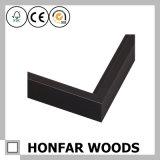 Cadre en bois rouge et noir haute qualité pour décoration intérieure