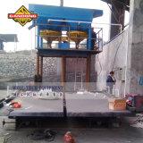 Placer fábrica de transformação de ouro toda a linha de equipamentos do Gandong