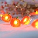 赤いAppleクリスマスイブの銅線LEDロープは木の庭のホーム装飾のための電池式をつける