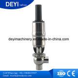 Válvula de cierre higiénica sanitaria de Ss316L Pneumaitc