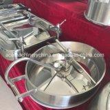 En acier inoxydable de grade alimentaire hygiénique Type plaque d'égout Manway ovale