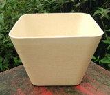 Eco-Friendly 대나무 섬유 정원, 생물 분해성 Compostable 가정 훈장 화분 (BC-FP1011)
