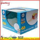 カスタムWindowsが付いているカラーによって印刷されるおもちゃのパッキング包装の折る波形ボックス