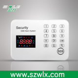 GSMの接触キーパッド無線GSMの警報システムの防犯ベル
