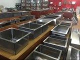Pia de cozinha de aço inoxidável comercial de aço inoxidável sem torneira