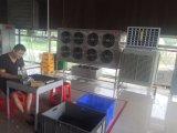 Refrigerador de ar móvel para condicionamento comercial e industrial