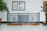 Barandilla de acero galvanizada decorativa de alta calidad 4 del balcón de la aleación de Haohan Alluminum