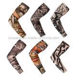 Manicotti elastici poco costosi del braccio del tatuaggio di vendita di Ouwang di modo promozionale caldo del regalo