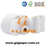 Petit papier thermosensible enduit blanc d'atmosphère pour le côté