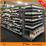 Durable Metal Supermarket Shelving / Steel display Supermarket Gondola Rack