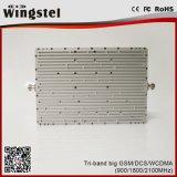 900/1800/2100MHz 2g 3g 4g Tri Bande Signal Booster pour utilisation à domicile