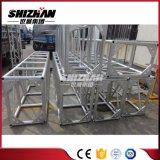 Shizhan 520*760mmの三角形が付いている正方形のアルミ合金ボルトまたはねじトラスは版を増強する