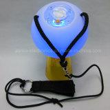 Firmenzeichen gedruckte Kugel LED-Poi für Partei-Dekoration (3560)