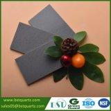 Прокатанный серый Countertop кухни камня кварца