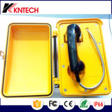 Telefone resistente selado tempo Knsp-03 Kntech do tempo ao ar livre do telefone