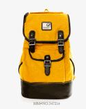 Sac unisexe d'élève de sac à dos de sac d'épaule de section verticale