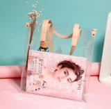 Travel impermeable de impresión cosmética bolsos de PVC