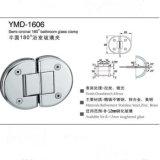 Accessoires de douche Frameless Porte-verre en acier inoxydable Collier de verre semi-circulaire