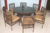 Tabella Furniture-125 esterno del rattan di svago