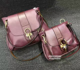 Hot Selling Latest Deisgn Female Handbag 100% Real Leather 2 Size Women Shoulder Bags Emg4963