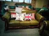 Sofà reale del cuoio di stile, nuova mobilia del salone (186)